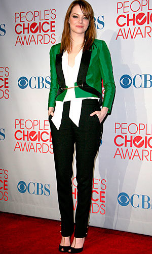 Katy Perry, Emma Stone and Chloe Moretz win big at the People's Choice Awards