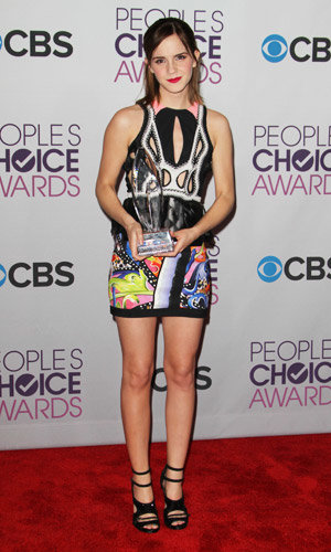 Emma Watson, Taylor Swift and Jennifer Aniston crowned winners at People's Choice Awards 2013