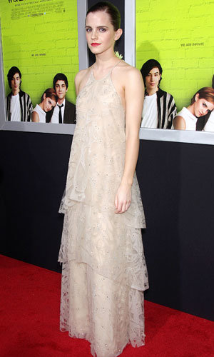 Emma Watson goes nude at Perks of Being A Wallflower premiere