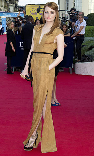 Emma Stone and Kate Bosworth hit the Deauville American Film Festival