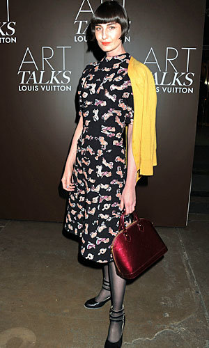 Fashion favourites Erin O'Connor and Lily Cole celebrate Grayson Perry exhibition with Louis Vuitton