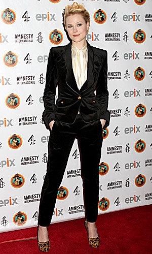 SEE PICS: Evan Rachel Wood, Noel Fielding and Russell Brand at Amnesty's NYC gala