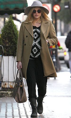 Pregnant Fearne Cotton gives us winter style inspiration