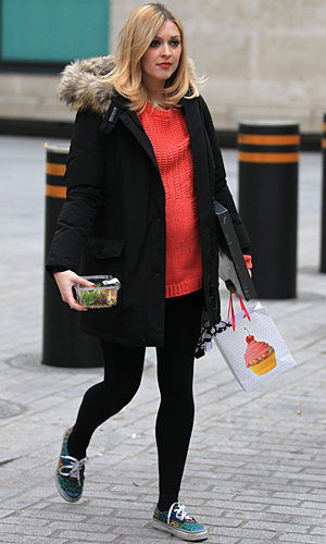 Fearne Cotton announces her maternity leave date