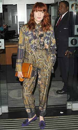 Florence Welch wows in prints