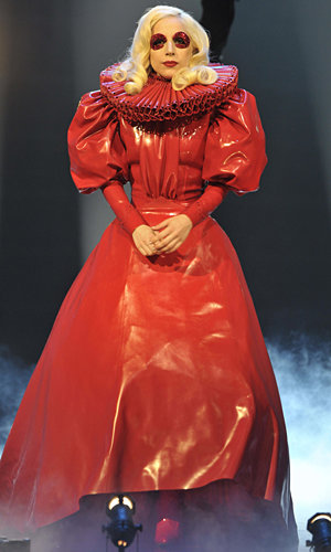 Lady GaGa entertains the Queen at the Royal Variety Performance