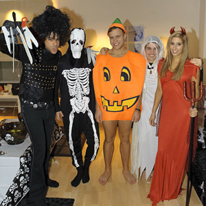 X Factor contestants dress up for Halloween