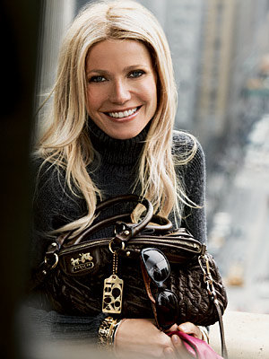 Gwyneth Paltrow is the new face of Coach!