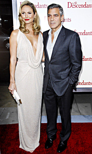 SEE PICS: George Clooney at The Descendants premiere