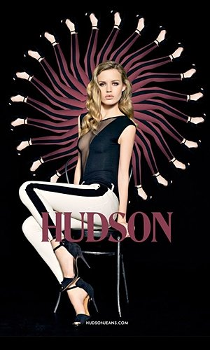 Georgia May Jagger stars in Hudson's 10th anniversary campaign!