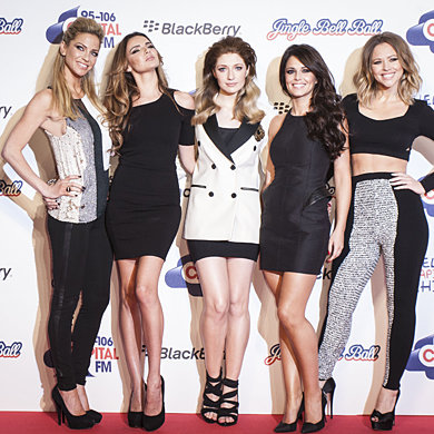Girls Aloud reveal their Valentine's Day wishes