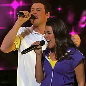 EXCLUSIVE: Sneak a peek at Glee 3D starring Cory Monteith and Lea Michele!