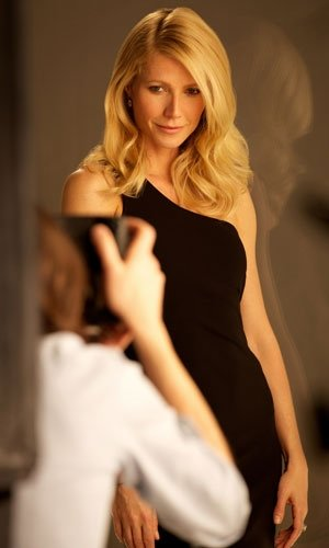 Gwyneth Paltrow smoulders for BOSS Nuit fragrance