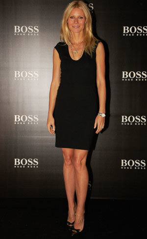 Gwyneth Paltrow is the face of BOSS Nuit fragrance