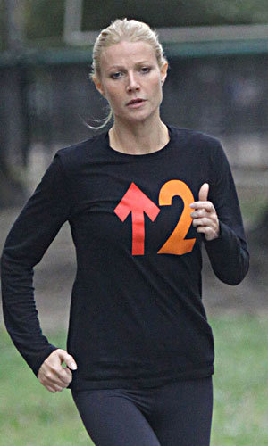 Gwyneth Paltrow shapes up for her new film role