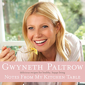 EXCLUSIVE: See a recipe from Gwyneth Paltrow's Notes From My Kitchen Table and WIN a copy of the book!