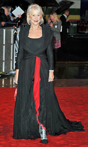 Helen Mirren and Bruce Willis team up at UK premiere of new movie Red!