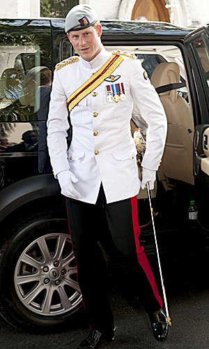 Prince Harry visits the Bahamas