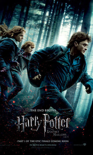 SEE NEW Harry Potter and the Deathly Hallows film poster!