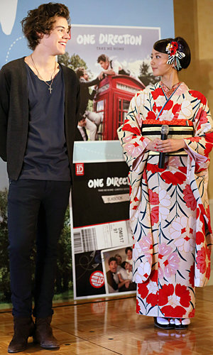 One Direction continue their tour of Japan