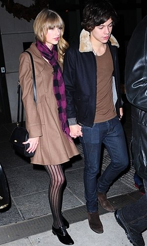 Harry Styles and Taylor Swift's New Year celebrations