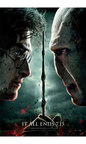 SEE NEW Harry Potter and the Deathly Hallows Part 2 poster!