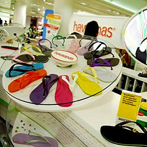 Selfridges launches made-to-order Havaianas