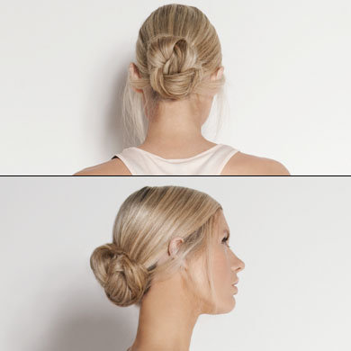 Hair How To: The Dressy Top Knot