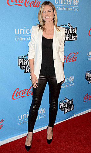 SEE PICS: Heidi Klum and Kristen Bell at Unicef's party