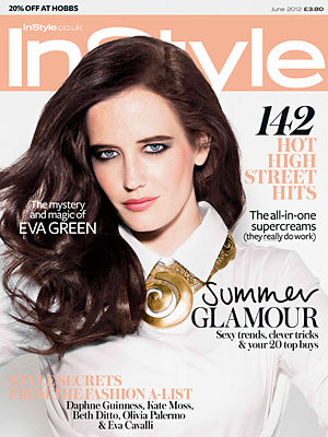 Eva Green covers InStyle!