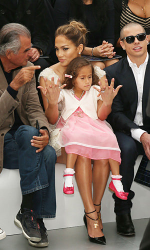 Jennifer Lopez goes front row at Chanel's Spring Summer 2013 fashion show