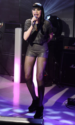 Jessie J takes the States by storm in a flurry of wow-worthy outfits!