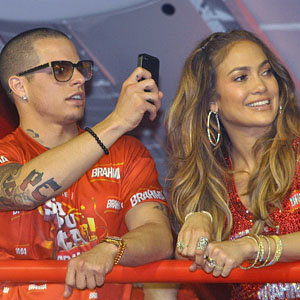 SEE PICS: Jennifer Lopez parties at the Rio Carnival!