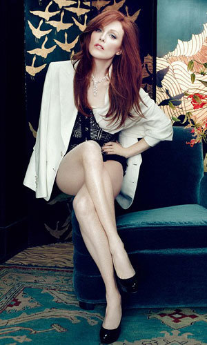 Julianne Moore sizzles as InStyle's May cover star!