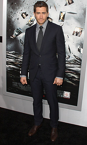 Jake Gyllenhaal and Michelle Monaghan hit the LA première of new thriller Source Code in style