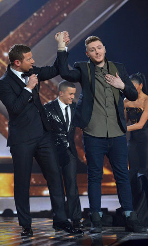 James Arthur wins the X Factor!