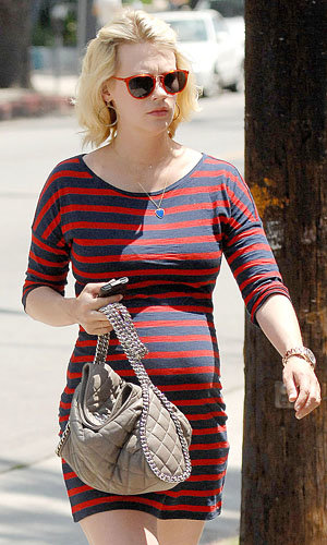 Congrats! January Jones has a baby boy