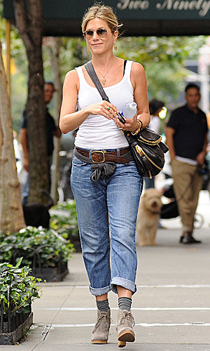 Fashion watch: Jennifer Aniston out and about in New York