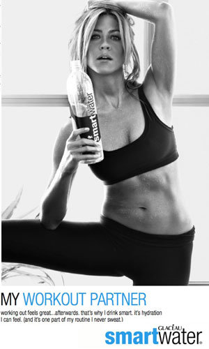 PICS: Jennifer Aniston sparkles in gorgeous new water ad