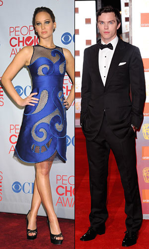 CUTE COUPLE ALERT: Nicholas Hoult and Jennifer Lawrence