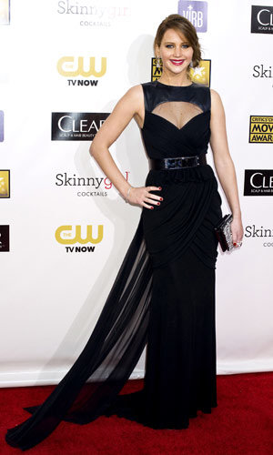 Jennifer Lawrence, Anne Hathaway and Jessica Chastain win big at Critics' Choice Awards 2013