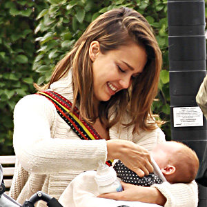 SEE PICS! Jessica Alba shows off baby Haven