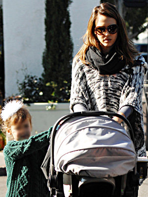 Jessica Alba on motherhood
