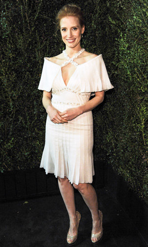 Kate Bosworth, Jessica Chastain and January Jones party with Chanel