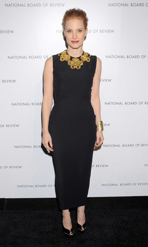 Jessica Chastain and Amanda Seyfried go glam at the National Board of Review Awards 2013