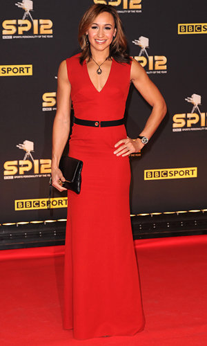 Jessica Ennis wows in Victoria Beckham at Sports Personality of the Year Awards 2012