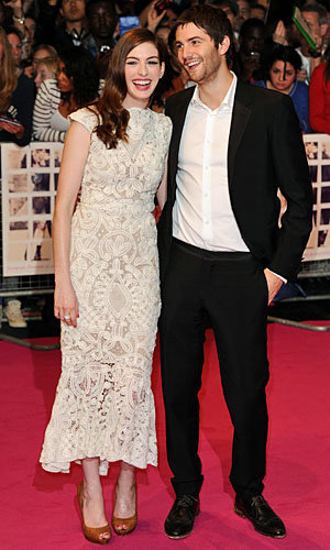 One Day premiere last night! InStyle met Anne Hathaway and Jim Sturgess for a chat...