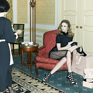 SEE PICS: Stephen Meisel shoots new Jimmy Choo campaign