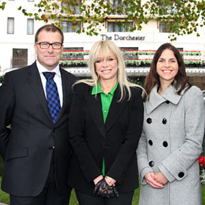 The Dorchester plants first of 80 trees to celebrate their 80th anniversary