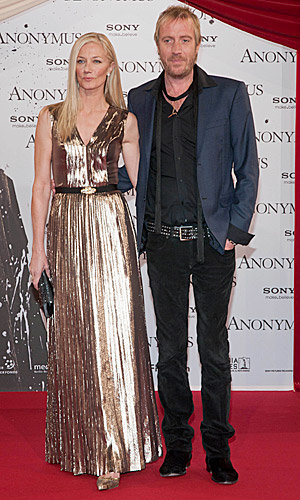 SEE PICS: Joely Richardson and Jamie Campbell Bower hit the Anonymous premiere!